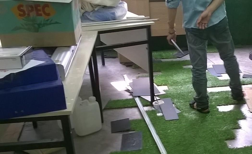 bỗng dưng với tác dụng của cỏ nhựa nhân tạo tại trường thiếu nhi