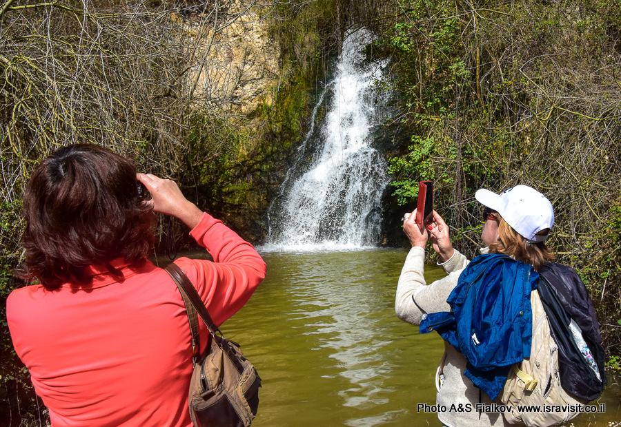 Водопад Аюн. Экскурсия в заповеднике Нахаль Аюн.
