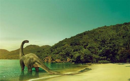 恐竜のジグソーパズル