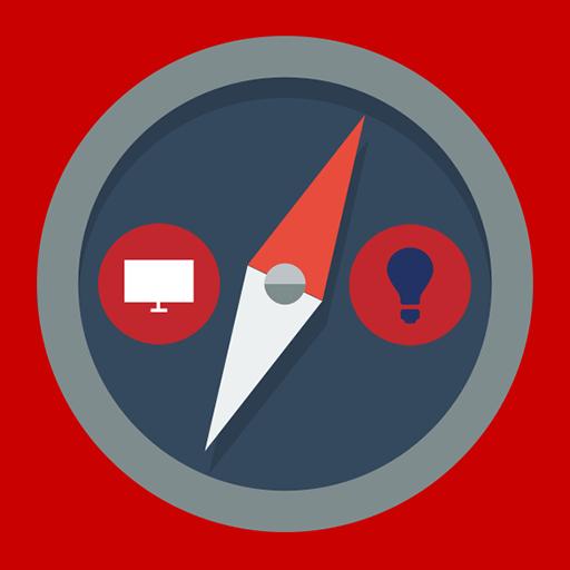 指南針手電筒 工具 App LOGO-硬是要APP
