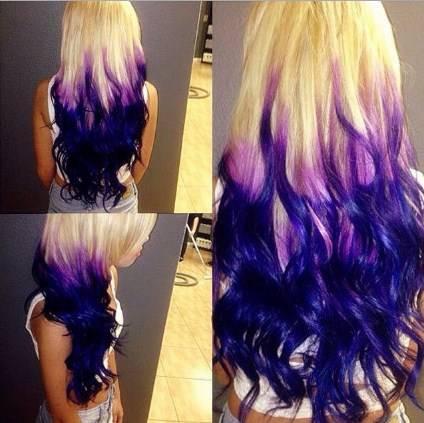 頭髮顏色樣式