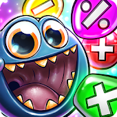 Monster Math: Fun Math Facts Games. Kids Grade K-5