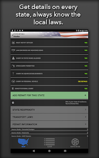 Concealed Carry App - CCW Laws- screenshot thumbnail