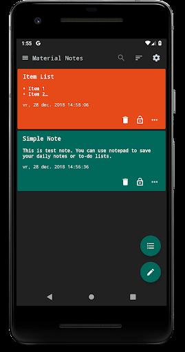 Notes (Material Notepad) 3.1.30 screenshots 1