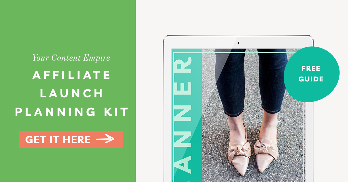 Freebie | Affiliate Launch Planning Kit