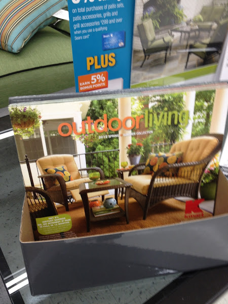 Photo: Kmart's outdoor catalog was out for grabs in the outdoor department. Full of all sorts of outdoor inspiration. #KmartOutdoor