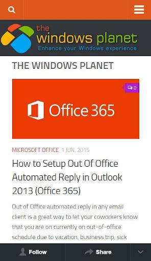 The Windows Planet TWP