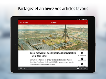 Le Point.fr – l'info en direct- screenshot thumbnail