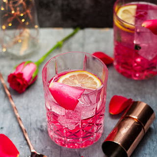 Rose Vodka & Tonic.