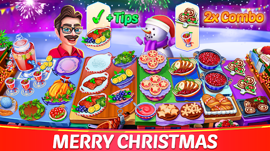 Christmas Cooking: Crazy Restaurant Mod Apk (Unlimited Money) 6
