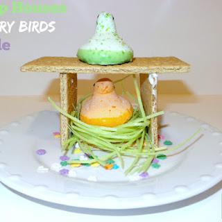 Peep Bird Houses-Angry Birds Style