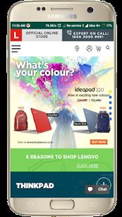 Lenovo Store - náhled