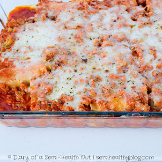 Turkey Lasagna Roll Ups