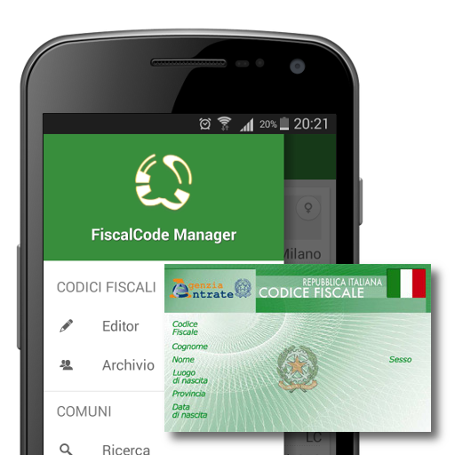 Codice Fiscale Manager
