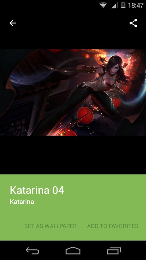 LOL Katarina Wallpapers HD Android Apps on Google Play