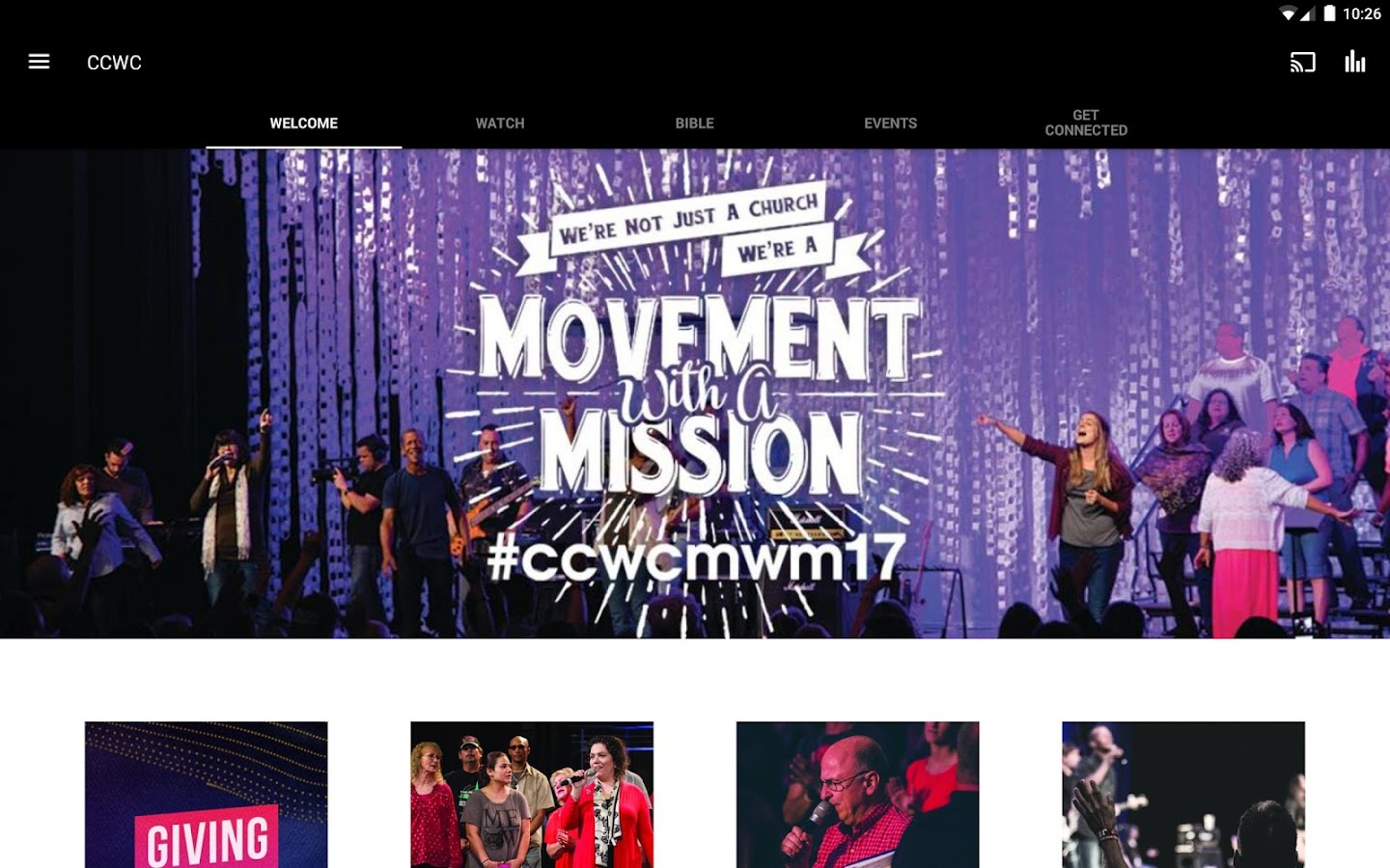 CCWC Church- screenshot