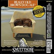 Logo of Smuttynose Really Old Brown Dog