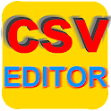 CSV table editor icon