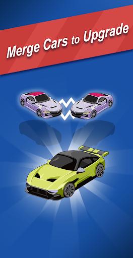 Ultimate Merge Cars: Idle Driving & Racing Tycoon apktram screenshots 1