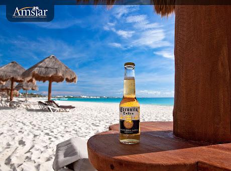 Corona Beach, Cancun Mexico