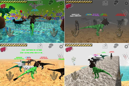 Raptor RPG - Dino Sim  screenshots 3