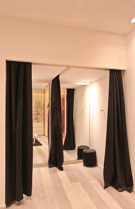 phòng thử đồ shop thời trang