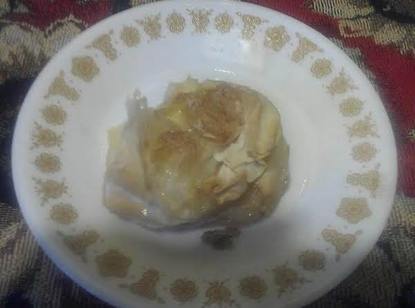Lighter Apple Dumpling Recipe