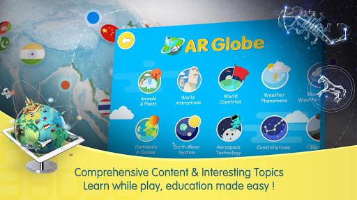 Capturas de pantalla de AR Globe by Vivabro 2