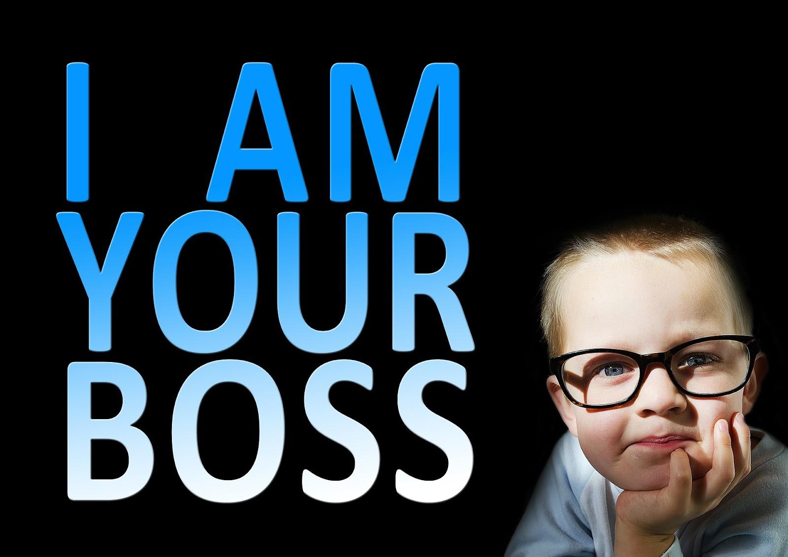 Я твой босс