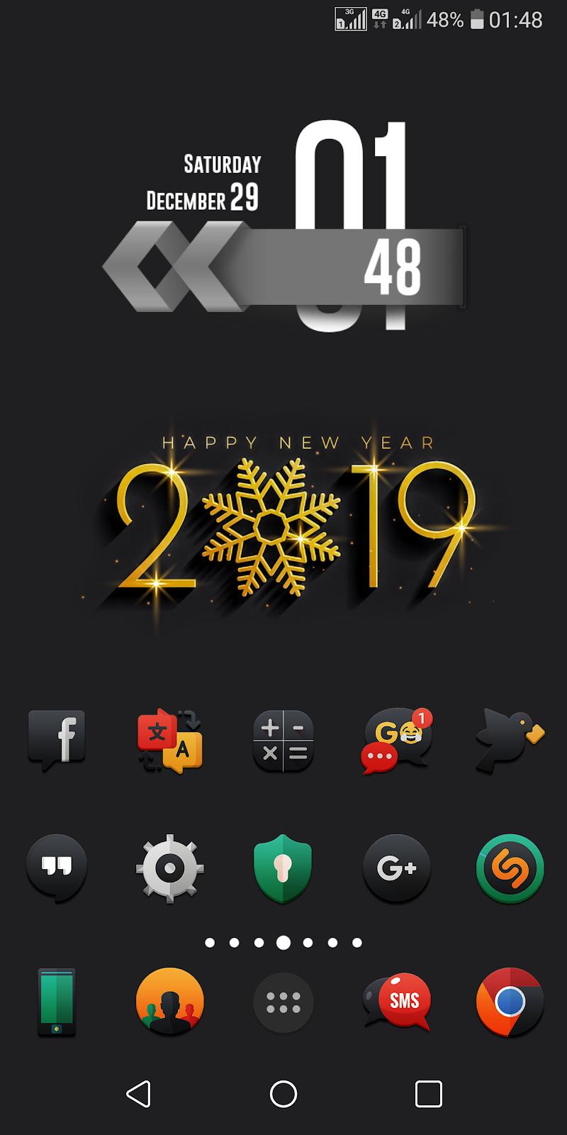 Darkonis - Icon Pack Screenshot 7