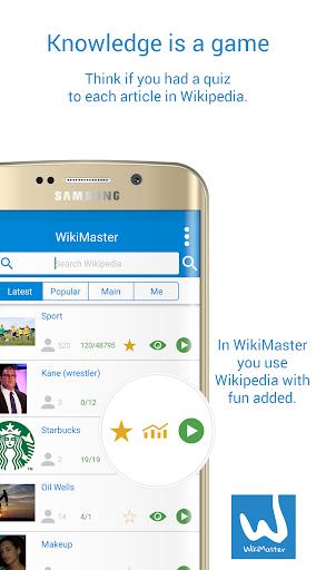 WikiMaster- Quiz to Wikipedia screenshot 5