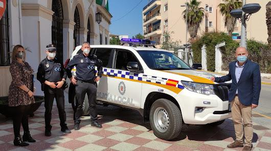 El Ayuntamiento de Huércal-Overa dota a la Policía Local de un nuevo vehículo