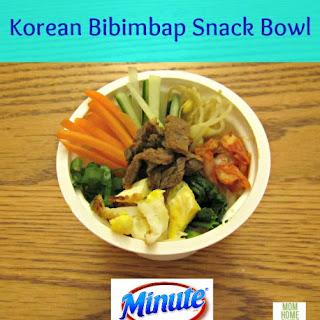 Mini Korean Bibimbap Bowls Recipe