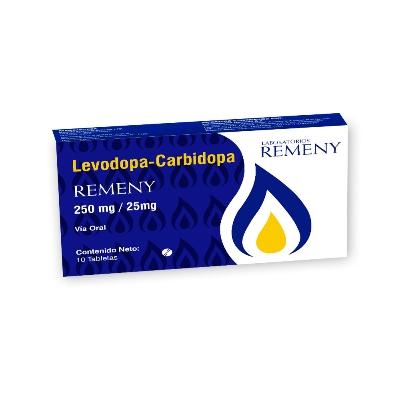 Levodopa + Carbidopa Remeny 250/25mg