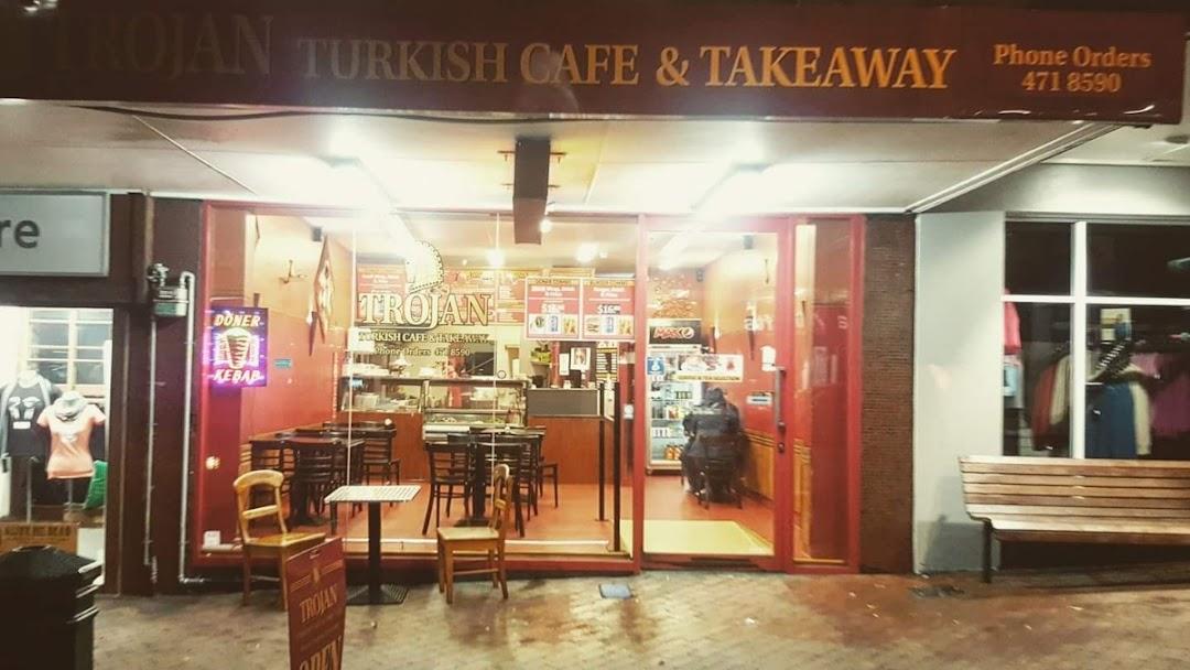 Trojan Turkish Cafe Restaurant Restaurant In 74 George