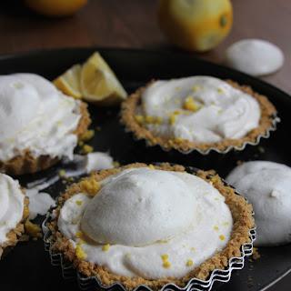 GF Vegan Coconut Lemon Meringue Pies