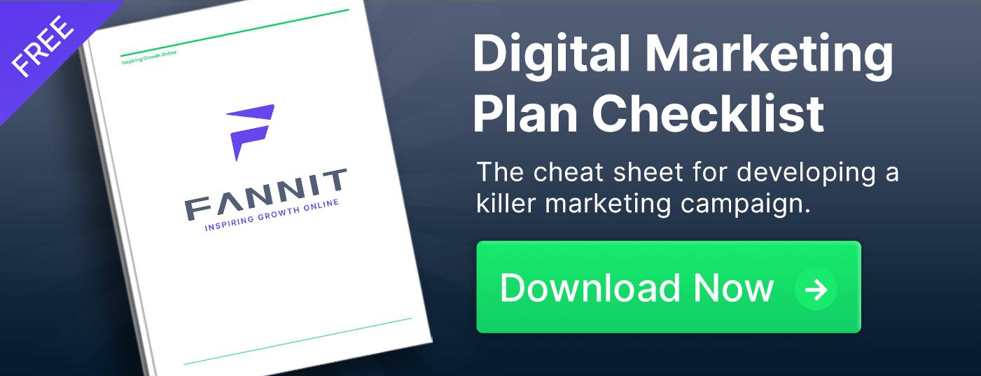 digital marketing plan checklist