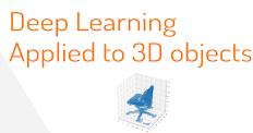 3次元データへの深層学習の適用