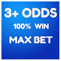 3+ ODDS 100% WIN MAXBET icon