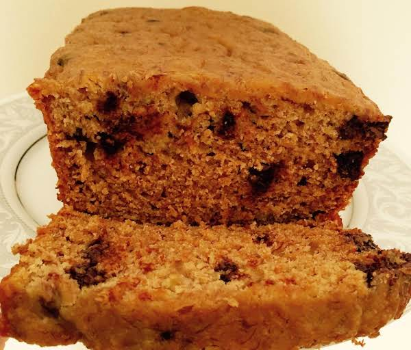 Low  Fat Crockpot Choco Chip Banana Bread By Nor