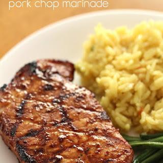 The Best Pork Chop Marinade.