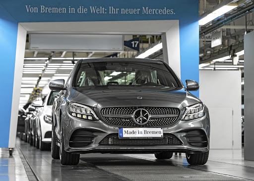 Mercedes will be hoping the upgraded C-Class will boost its sales Picture: DAIMLER
