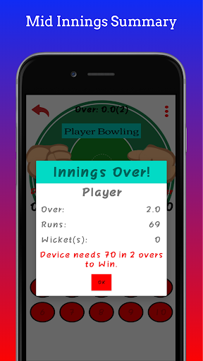 Hand Cricket 1.2 screenshots 6