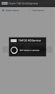Tatvik TMF20 RDService - náhled