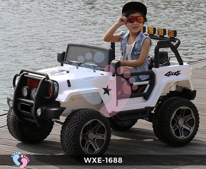 Xe oto điện trẻ em WXE-1688 2 chỗ ngồi 4