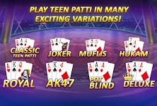 screenshot of Teen Patti Gold - With Poker & Rummy