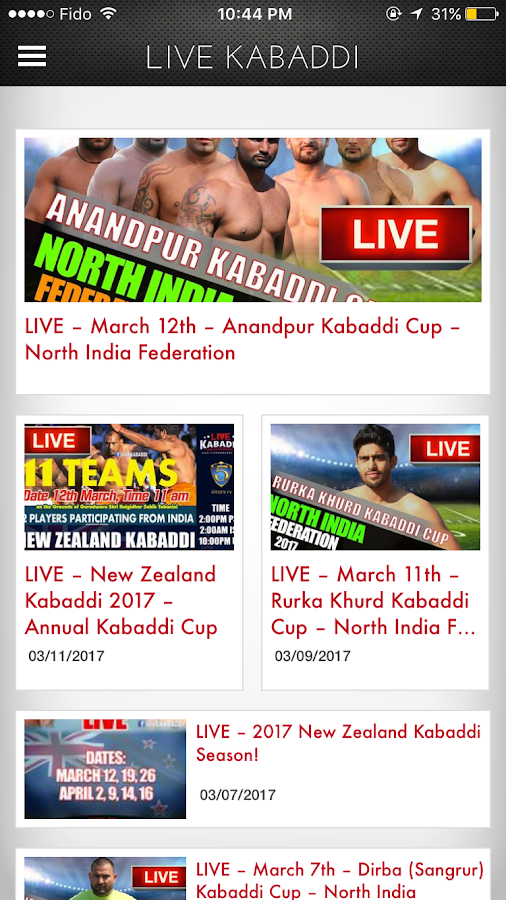 Live Kabaddi- screenshot