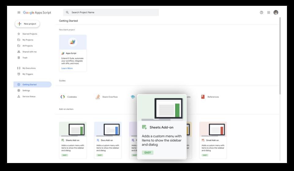 Google Workspace Review App Script