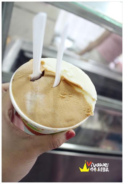 特濃花生口味且口感綿密的傳統冰品『黑店冰店』