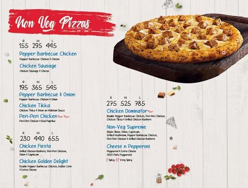 Domino's Pizza menu 3